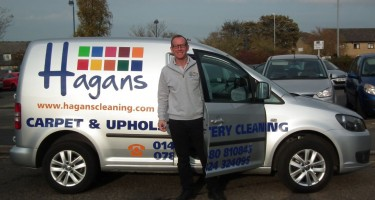 Mick Hagan at Hagans professional carpet and upholstery cleaning in Cambridgeshire 1